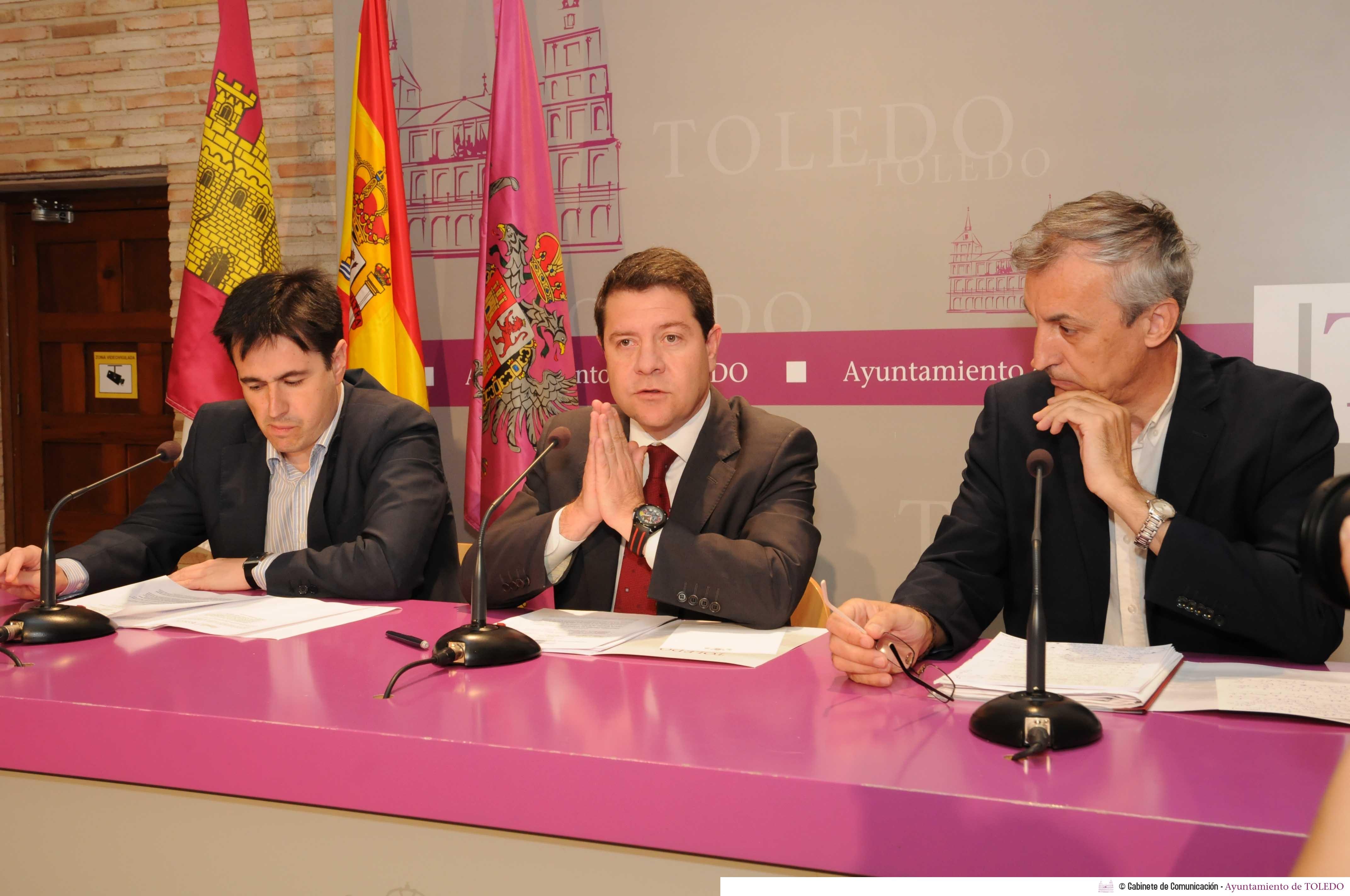 http://www.toledo.es/wp-content/uploads/2014/07/20140708_1613736631_page_alberto_sanchez.jpg. El Gobierno municipal realizará varias obras públicas durante este verano con fondos propios