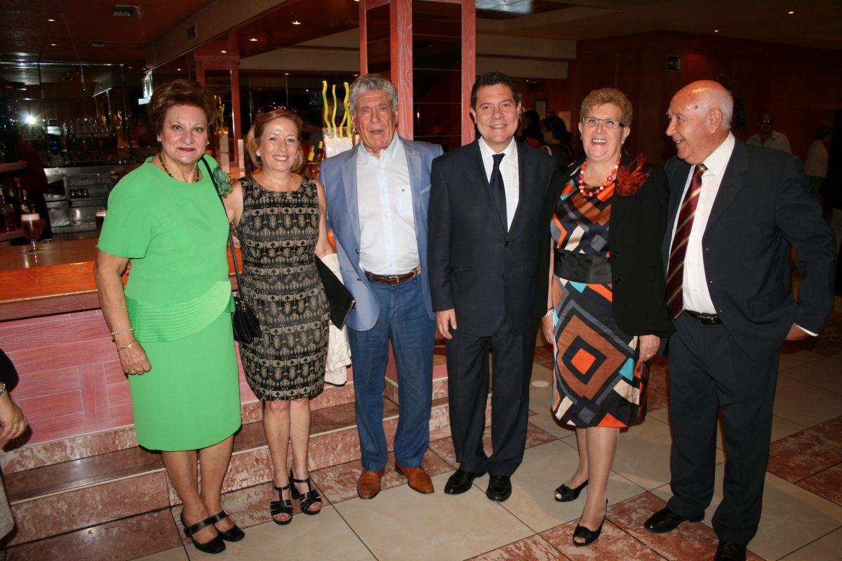 García-Page acompaña a los miembros de ASVAT en su tradicional comida de hermandad
