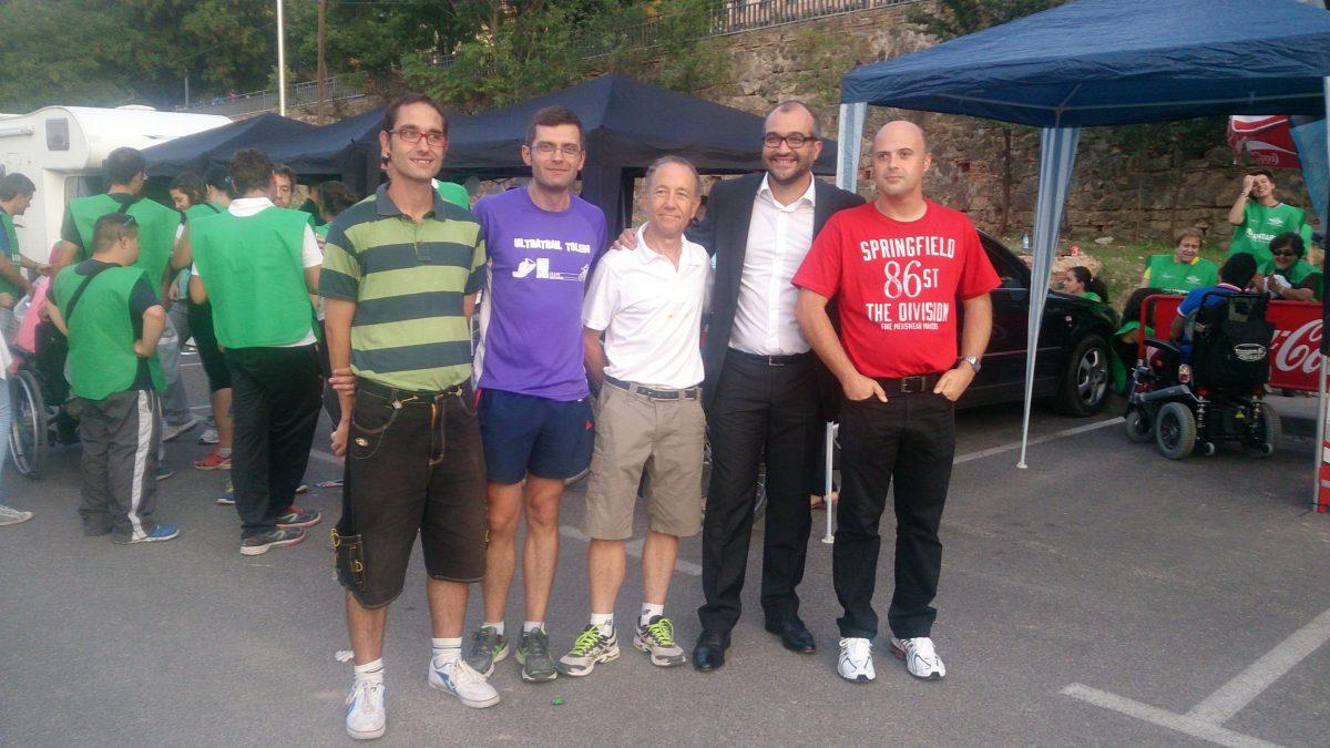 https://www.toledo.es/wp-content/uploads/2014/10/alfonso_deportes01-1200x675.jpg. Un total de 70 deportistas terminan la I Ultra Trail de Toledo a beneficio de FEAPS