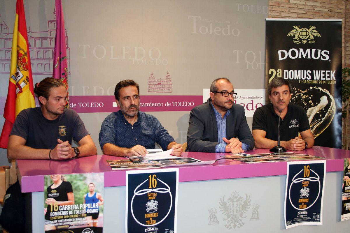Tras quince años, se recupera la Carrera Popular de los Bomberos de Toledo con la colaboración de Cervezas Domus
