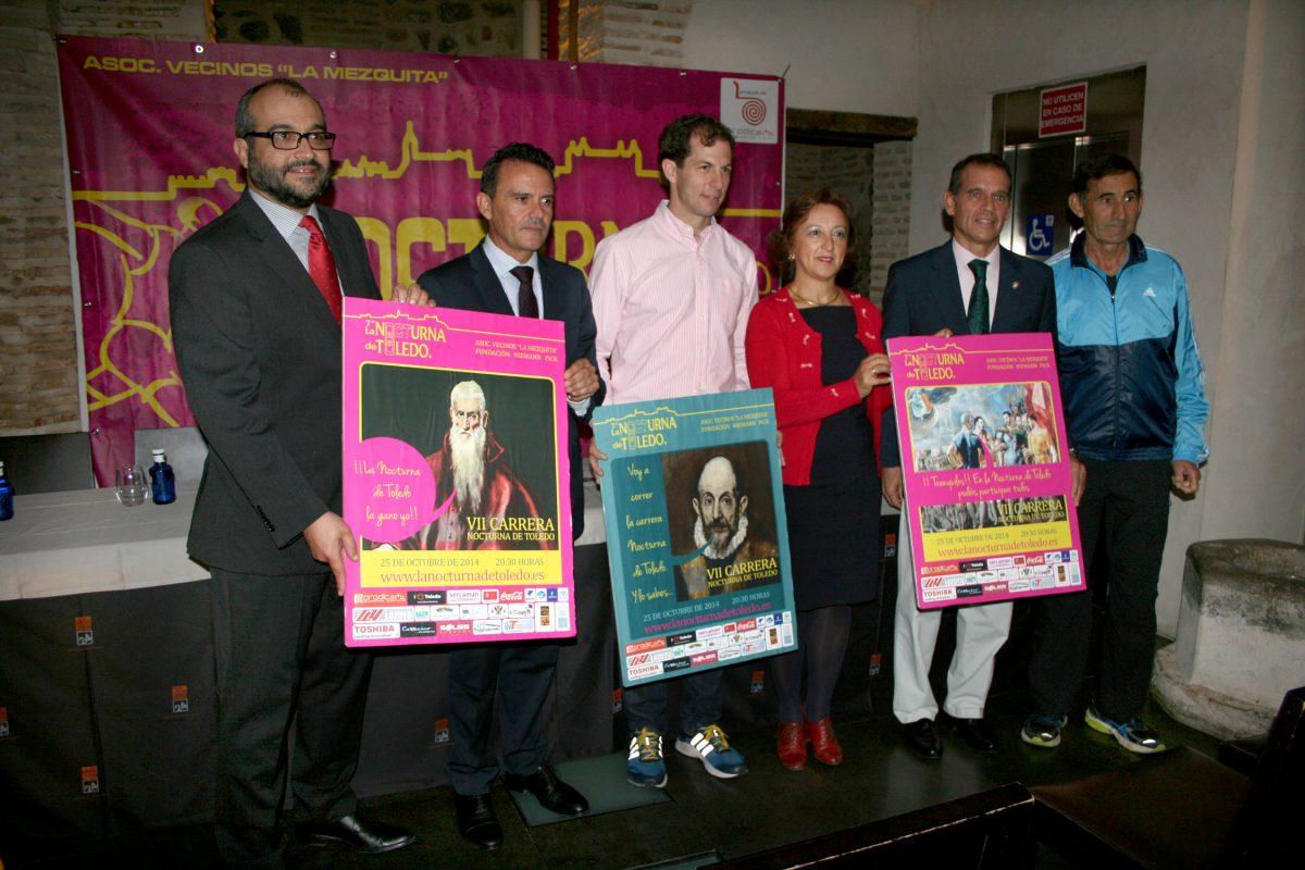 https://www.toledo.es/wp-content/uploads/2014/10/carrera_nocturna01-1200x800.jpg. El Ayuntamiento colabora en la VII Carrera Nocturna de Toledo que se celebra el día 25 con un recorrido de 8 km por el Casco