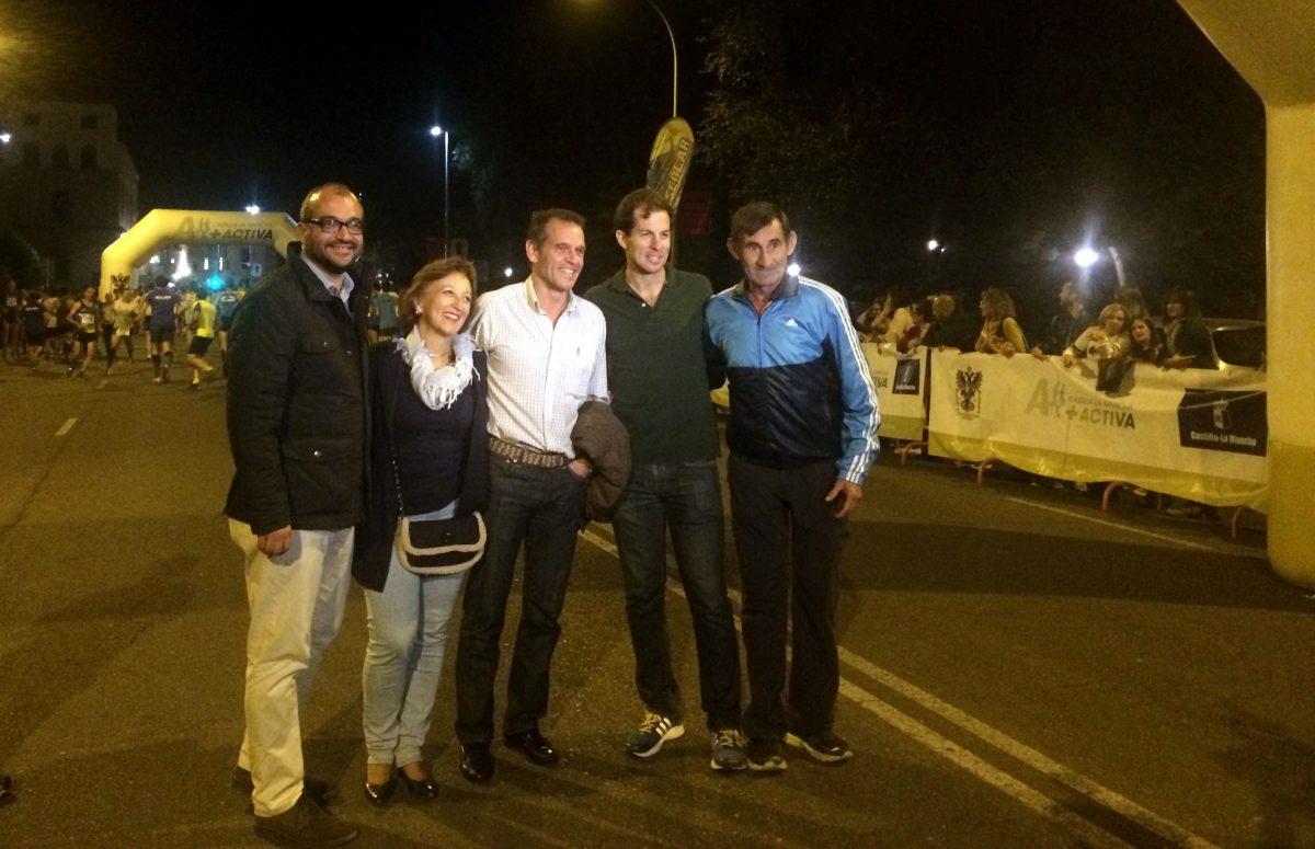 Vanessa Veiga y Sergio Salinero ganan la VII Carrera Nocturna de Toledo, que reunió a 1.600 atletas
