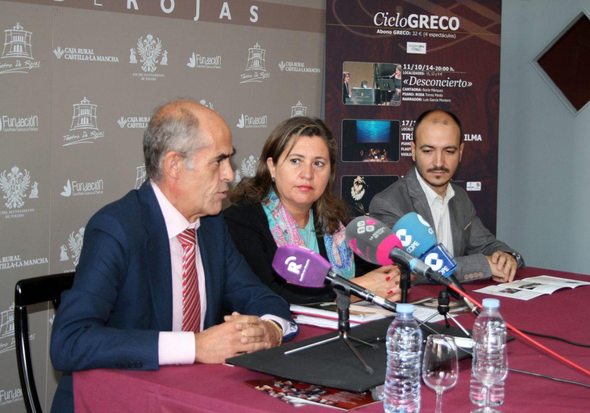 """El Teatro de Rojas cierra este mes el Ciclo Greco con tres conciertos y la representación de """"Historia de un cuadro"""""""