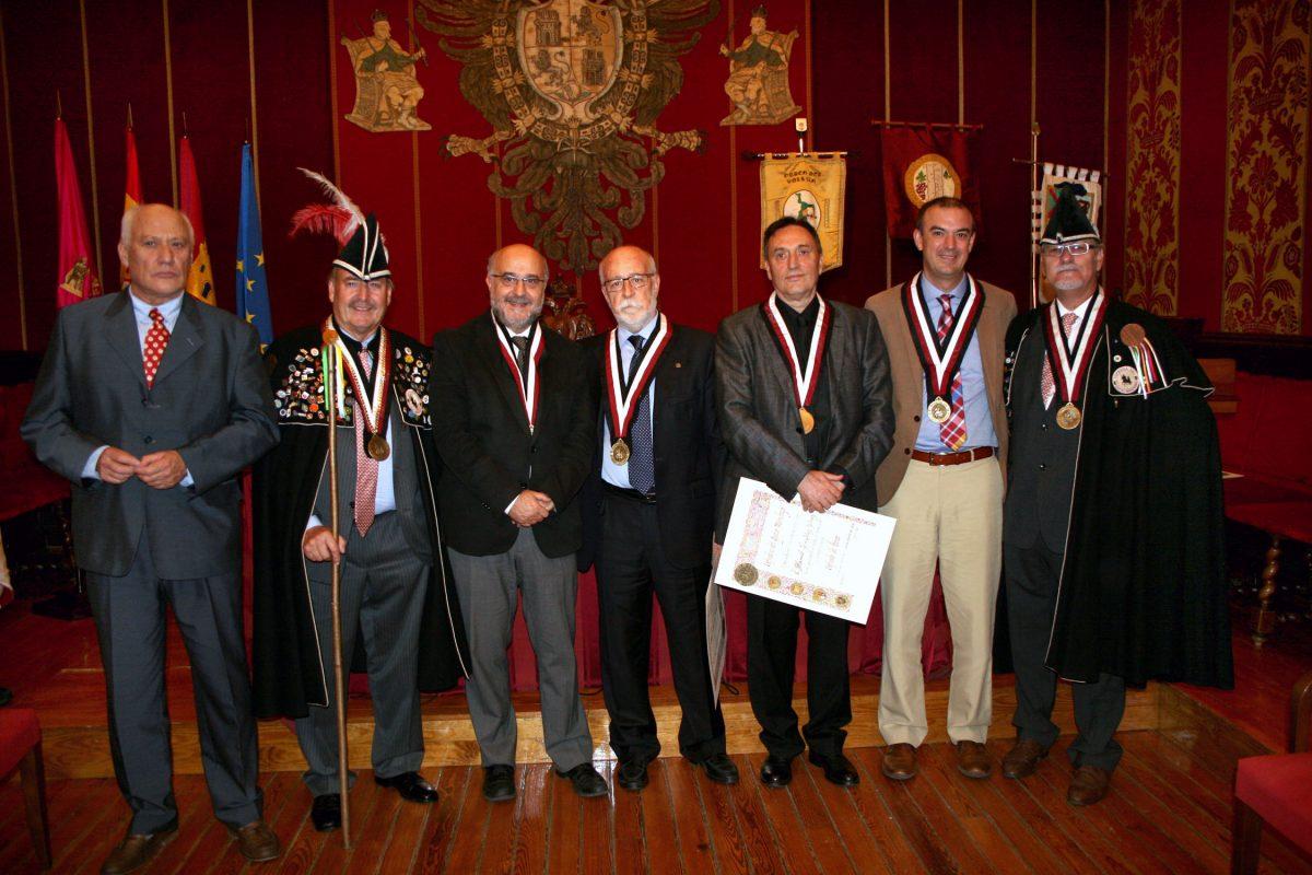 El Cofradía del Queso Manchego celebra en la Sala Capitular del Ayuntamiento su Capítulo de distinciones y condecoraciones
