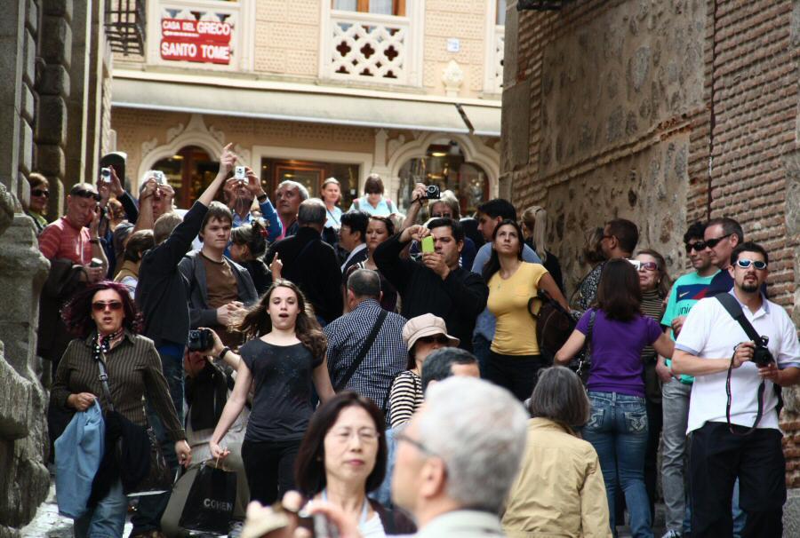 Toledo registra un lleno de turistas este fin de semana con cerca de un 100% de ocupación hotelera