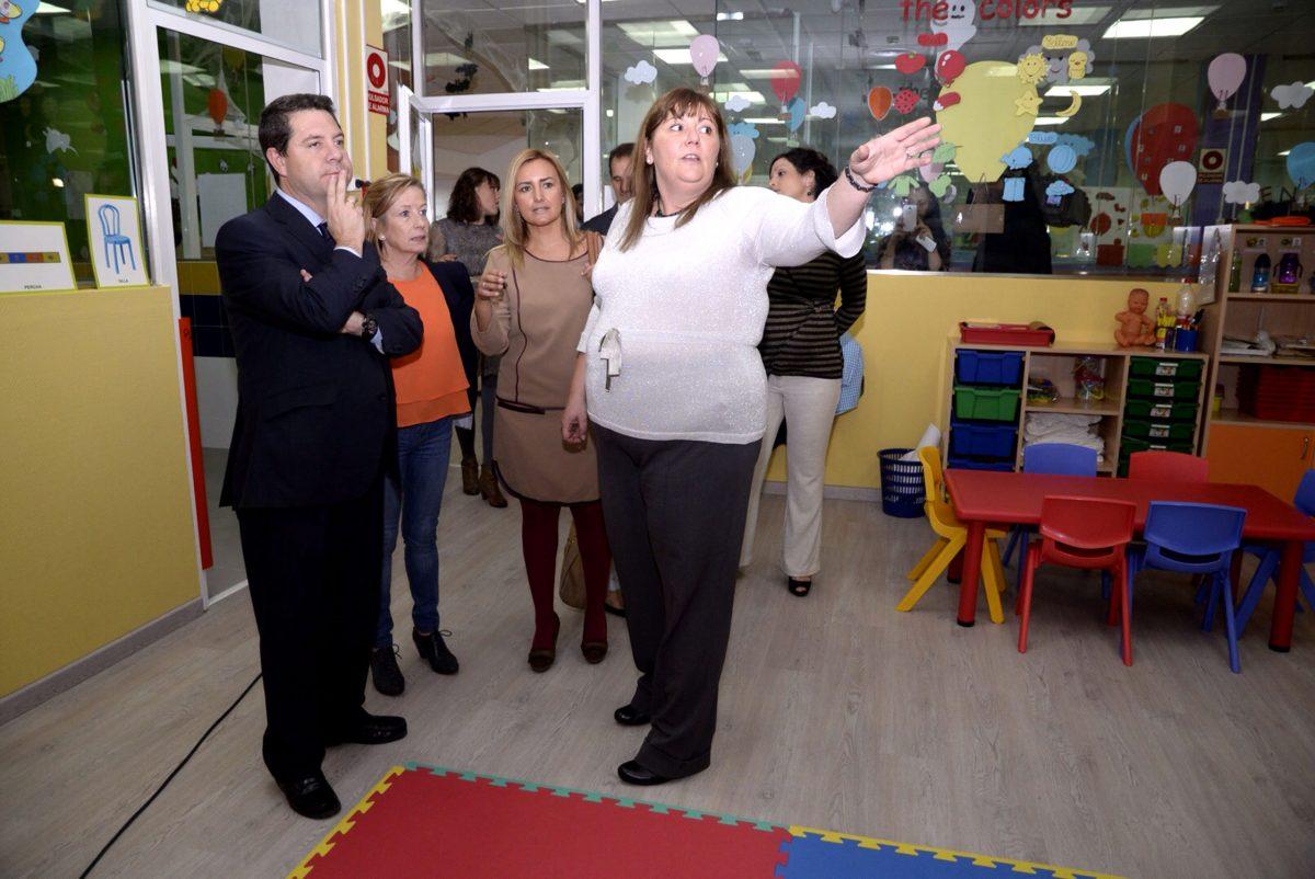 El alcalde inaugura un nuevo centro infantil en Buenavista