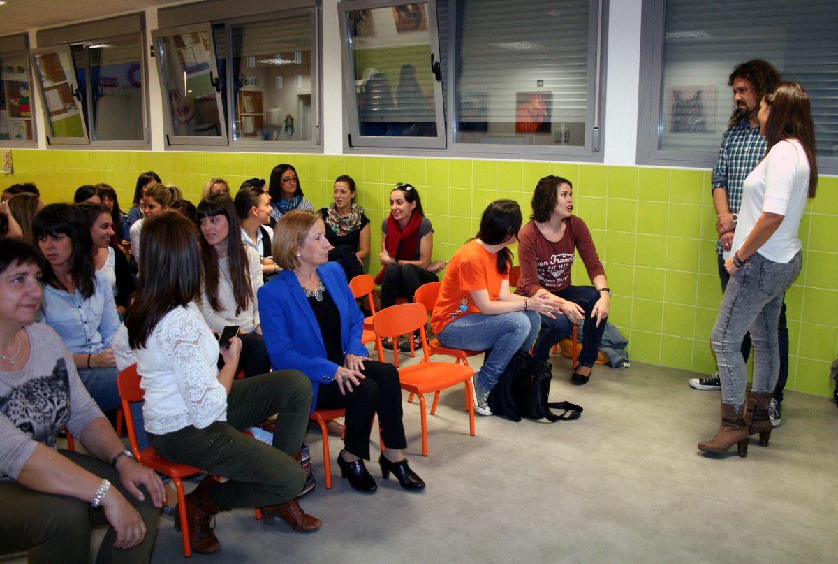 """El Ayuntamiento colabora con el Centro Crecer en un proyecto desarrollado en la Escuela Infantil """"Ana María Matute"""""""