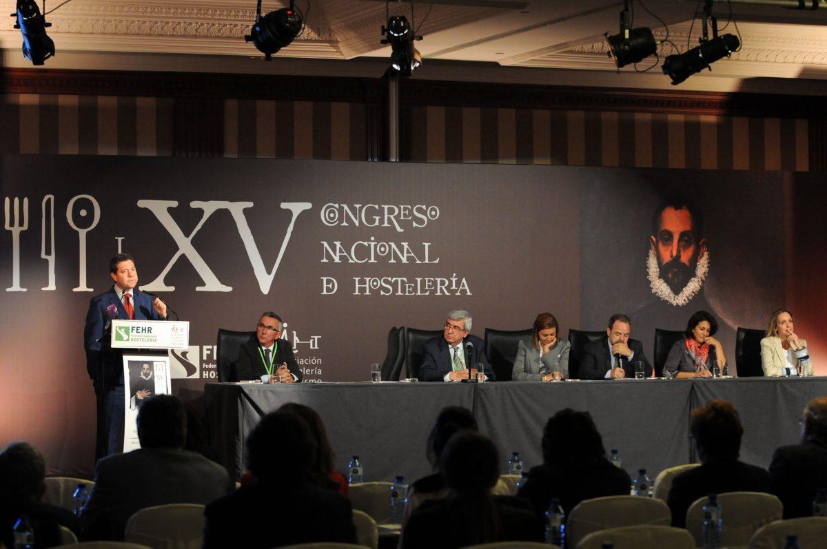 El alcalde de Toledo destaca la capacidad de adaptación de los hosteleros en la inauguración de su XV Congreso Nacional