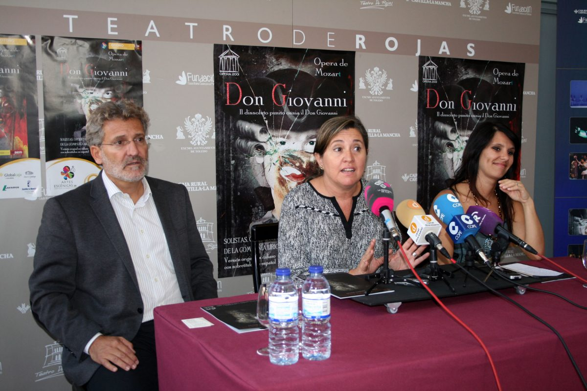 """El auditorio del Palacio de Congresos acoge este sábado la representación de """"Don Giovanni"""" a cargo de Ópera 2001"""