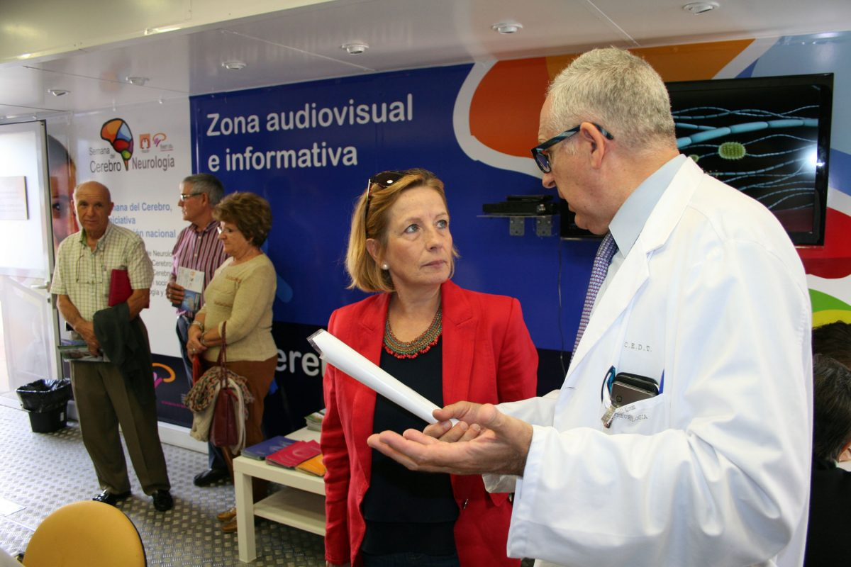 Apoyo del Gobierno local a la campaña de la Semana del Cerebro para la prevención de enfermedades neurológicas