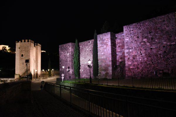 Iluminación Puerta de Alcántara