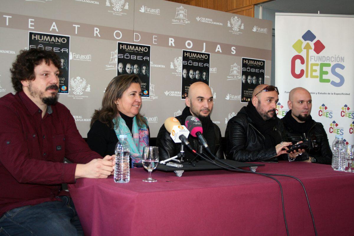 https://www.toledo.es/wp-content/uploads/2014/12/concierto_sober-1200x800.jpg. El Ayuntamiento de Toledo y la Fundación CIEES colaboran con Sôber en un espectáculo que promueve la inclusión social