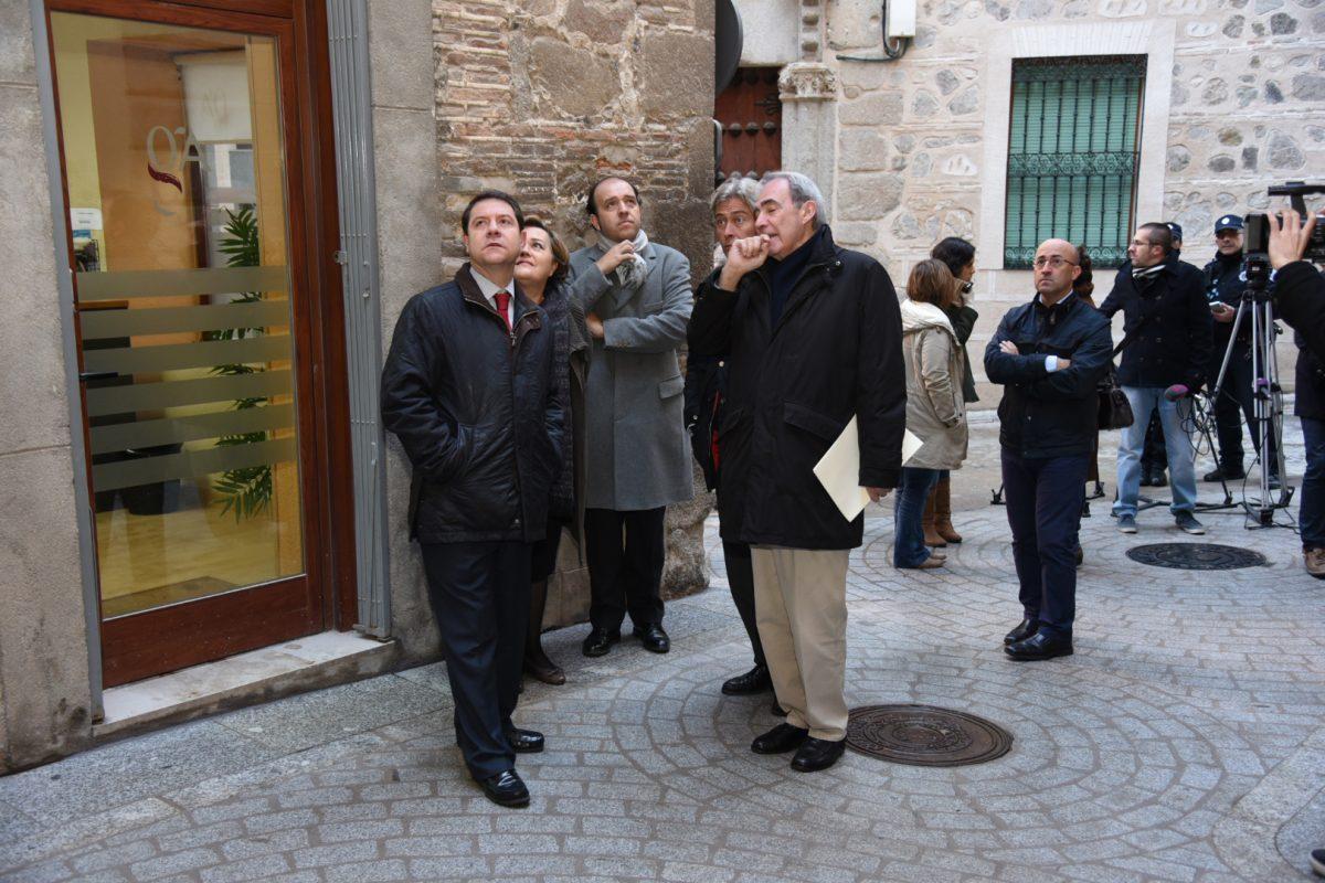 El Ayuntamiento solicitará al Ministerio de Fomento su participación en la rehabilitación del Corral de Don Diego