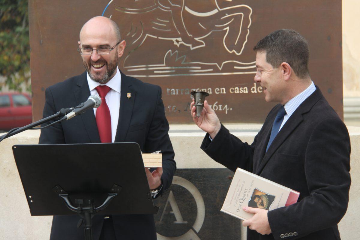 Toledo y Argamasilla de Alba trabajarán en la promoción turística conjunta en torno a la figura de El Quijote