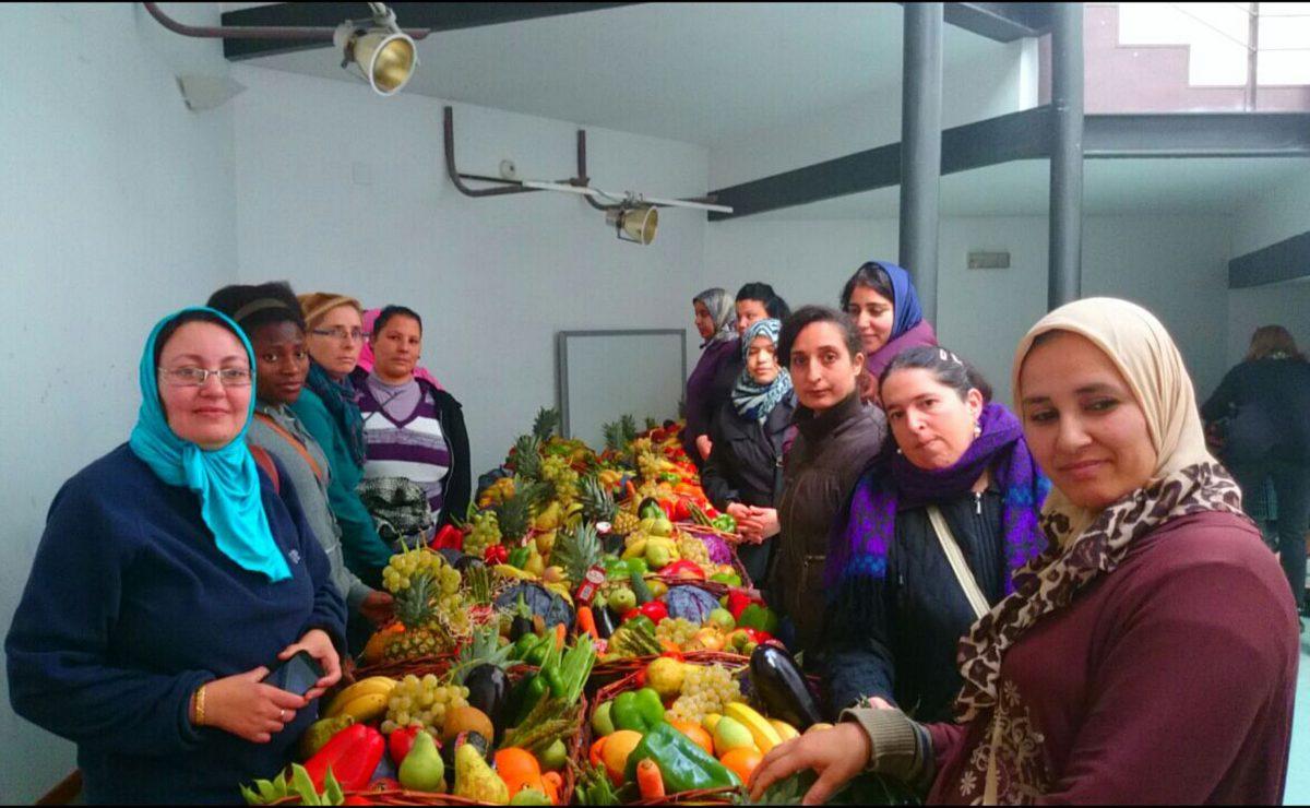 Cincuenta personas participan en un taller para promover alimentación saludable entre colectivos en riesgo de exclusión