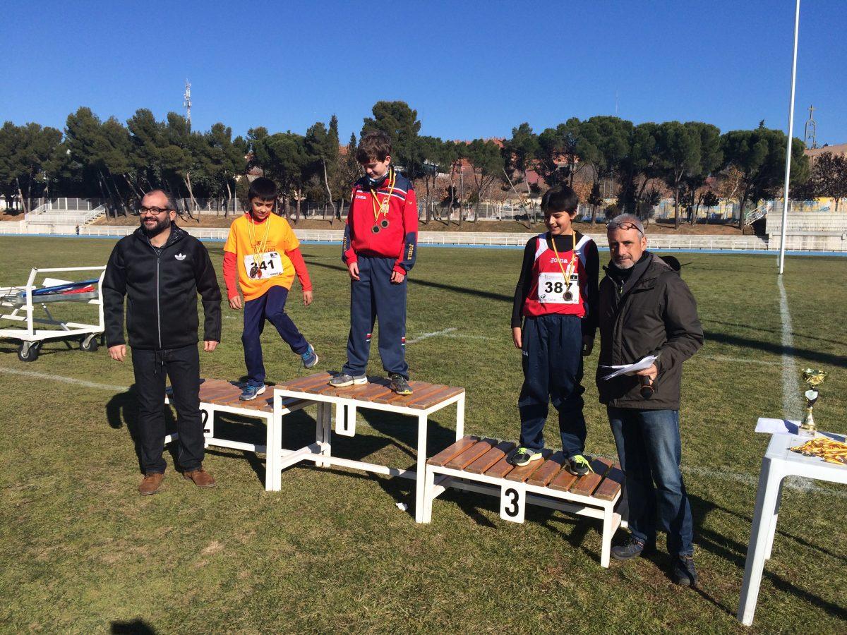 El toledano Lucas Búa logra una de las mejores marcas españolas de 500 metros en el control de atletismo 'San Ildefonso'
