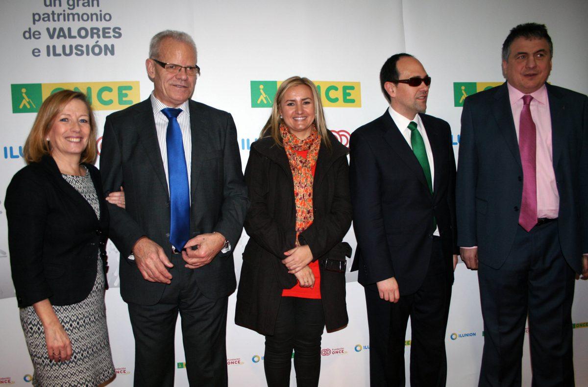 El Gobierno local, en la presentación de los nuevos responsables de la ONCE en Castilla-La Mancha