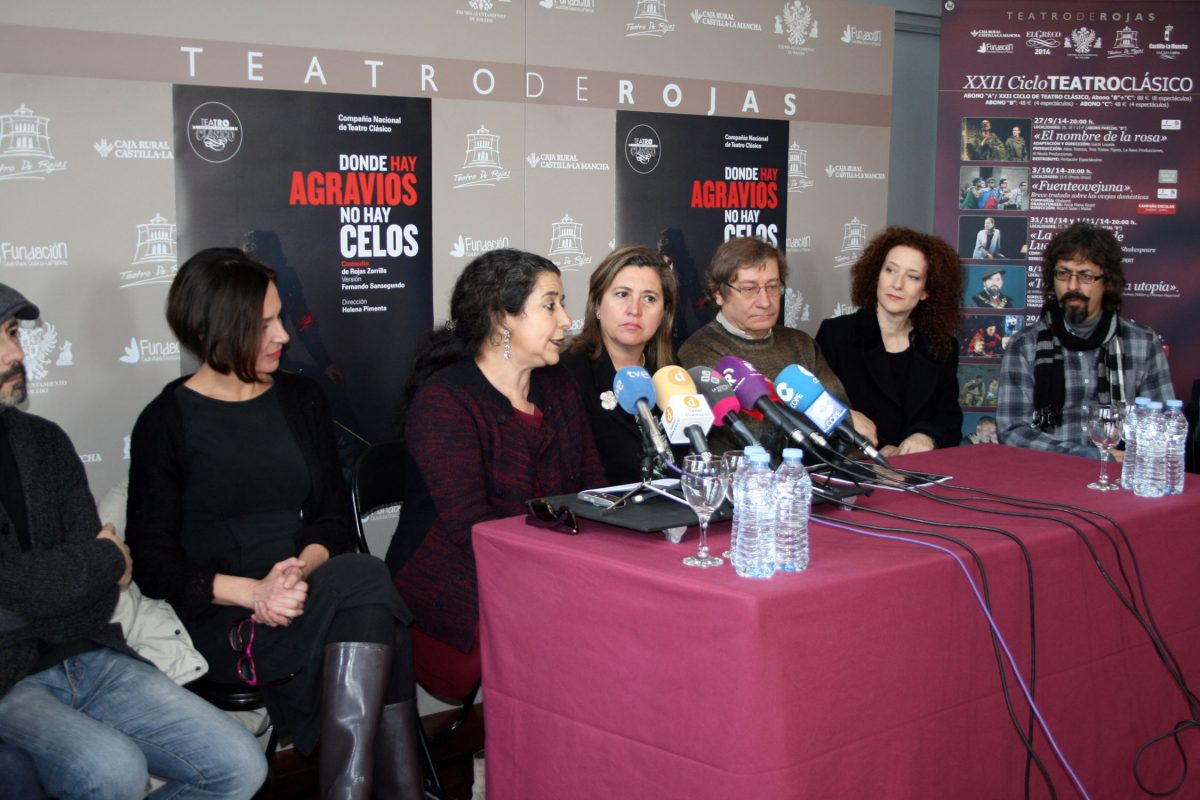 """https://www.toledo.es/wp-content/uploads/2015/01/presentacion_rojas-1200x800.jpg. La Compañía Nacional de Teatro Clásico trae al Rojas este fin de semana la comedia """"Donde hay agravios no hay celos"""""""