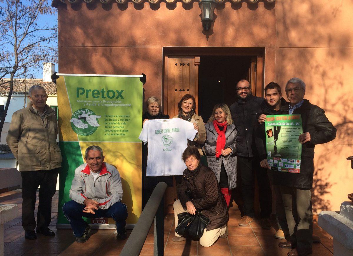 Pretox y el Ayuntamiento hacen el último llamamiento para inscribirse a la I Carrera Contra la Droga de Toledo