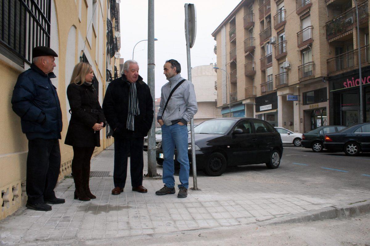 El Gobierno local dota de mayor accesibilidad a la calle Uruguay a demanda de una persona con movilidad reducida