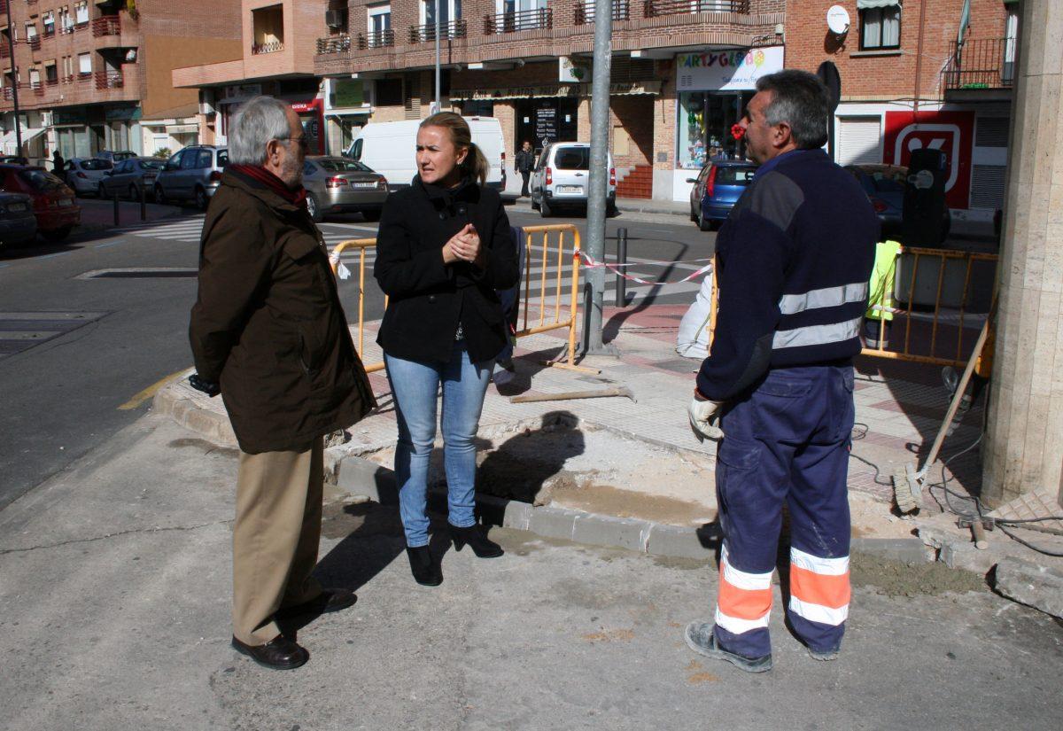 El Ayuntamiento de Toledo completa la intervención para mejorar la accesibilidad en la calle Uruguay