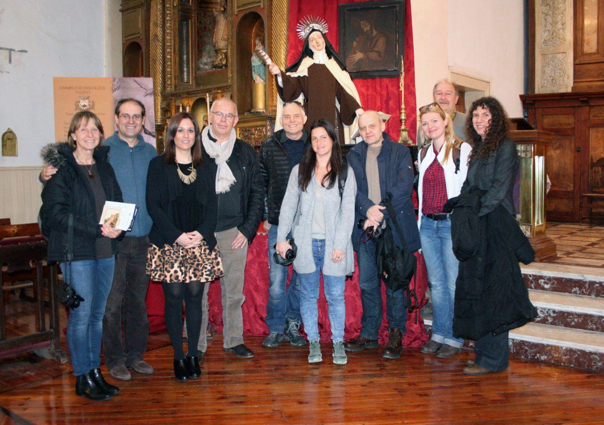 Toledo recibe a un grupo de periodistas alemanes interesados en el legado de Santa Teresa de Jesús