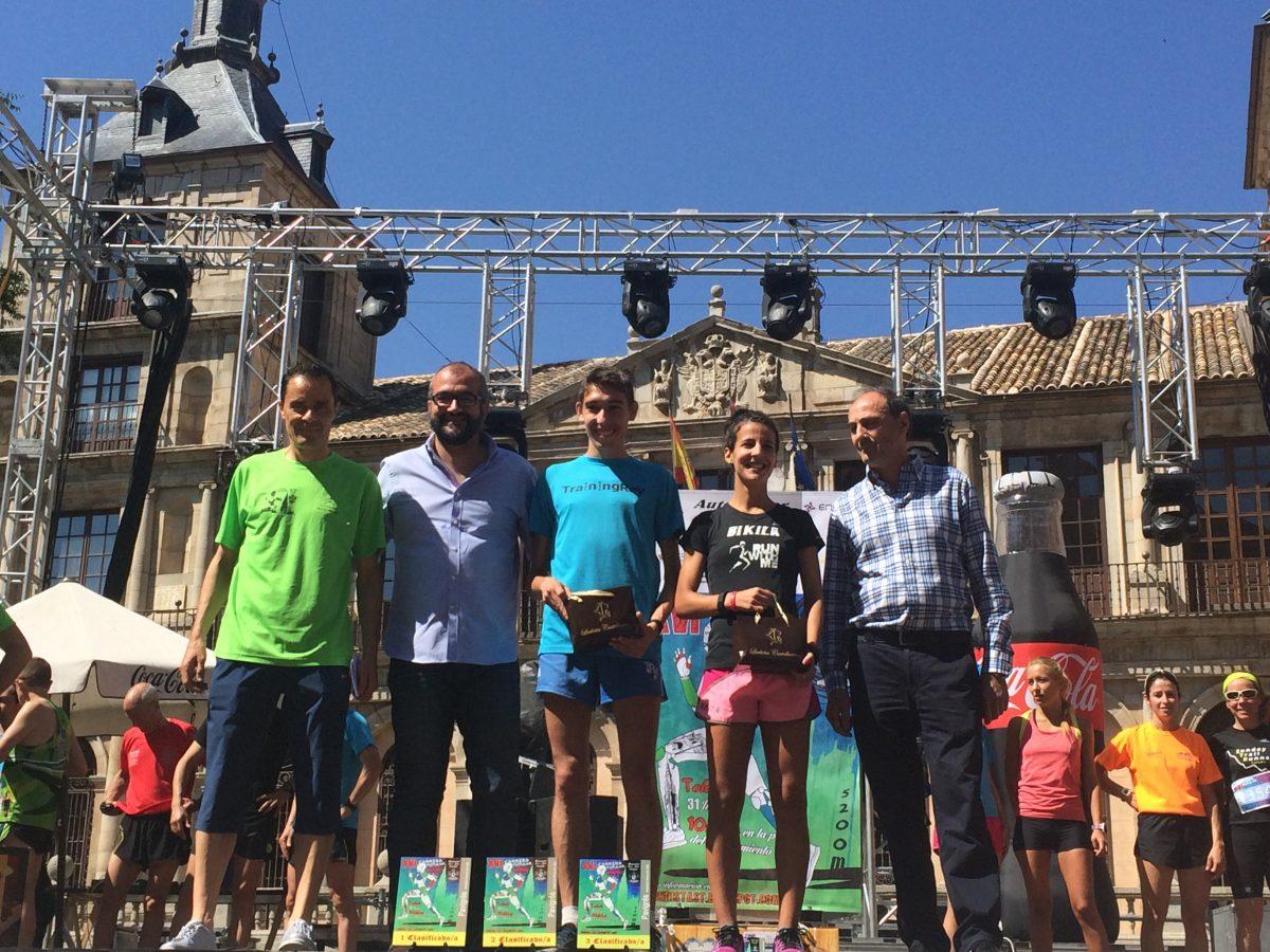 Los toledanos Ricardo Martínez y Sonia Labrado, vencedores de la XVI Carrera Popular 'Corpus Christi'