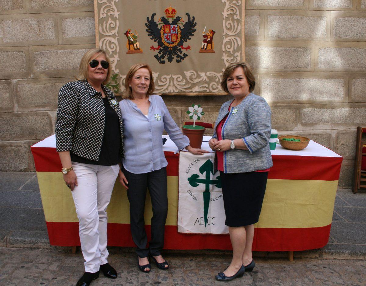 El Ayuntamiento de Toledo se suma a la campaña de recogida de fondos que realiza la Asociación Española Contra el Cáncer