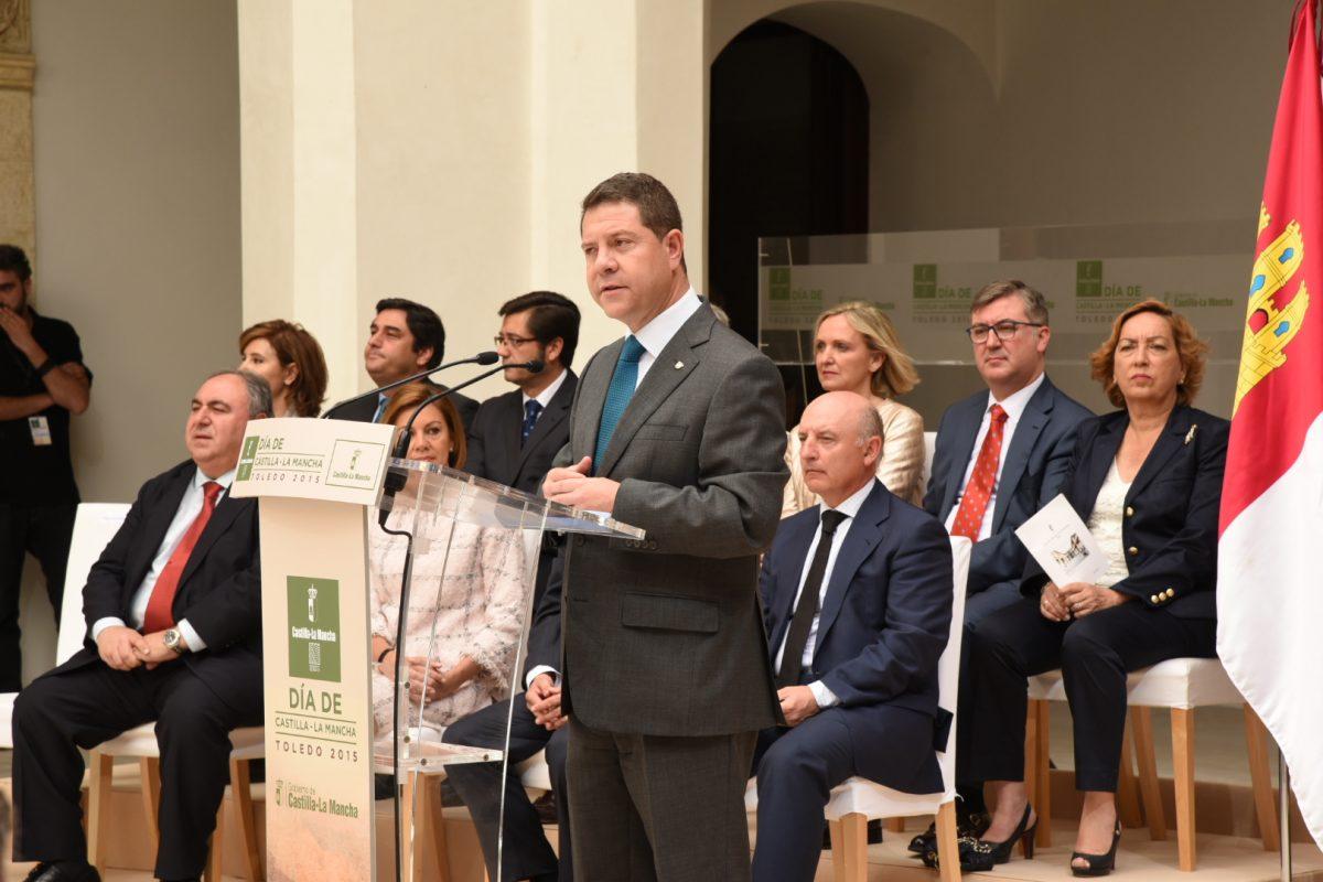 """García-Page: """"Nuestro futuro es el encuentro y la recuperación de nuestra autoestima colectiva"""""""
