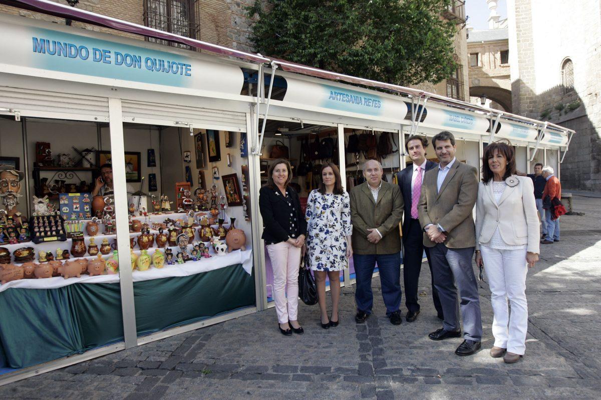 """El Ayuntamiento colabora en la I Feria de Primavera """"Artesanía en Toledo"""" que se celebra desde hoy y hasta el domingo"""