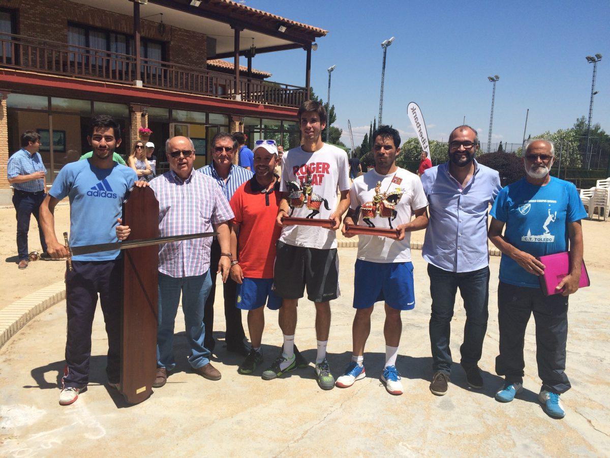 El madrileño Tino Muñoz se alza con la victoria en el XV Torneo Corpus del Club de Tenis Toledo
