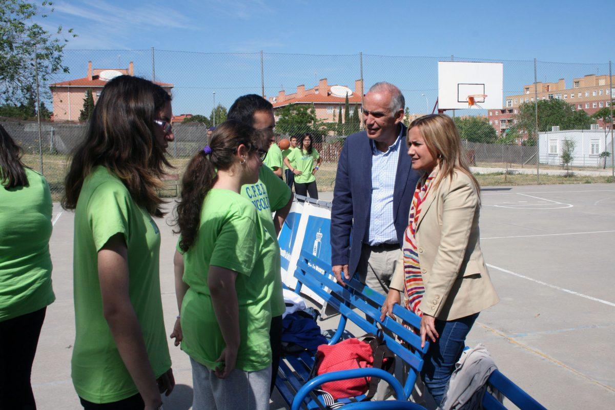 """Alrededor de 220 alumnos de centros de educación especial han participado en las Olimpiadas del colegio """"Ciudad de Toledo"""""""
