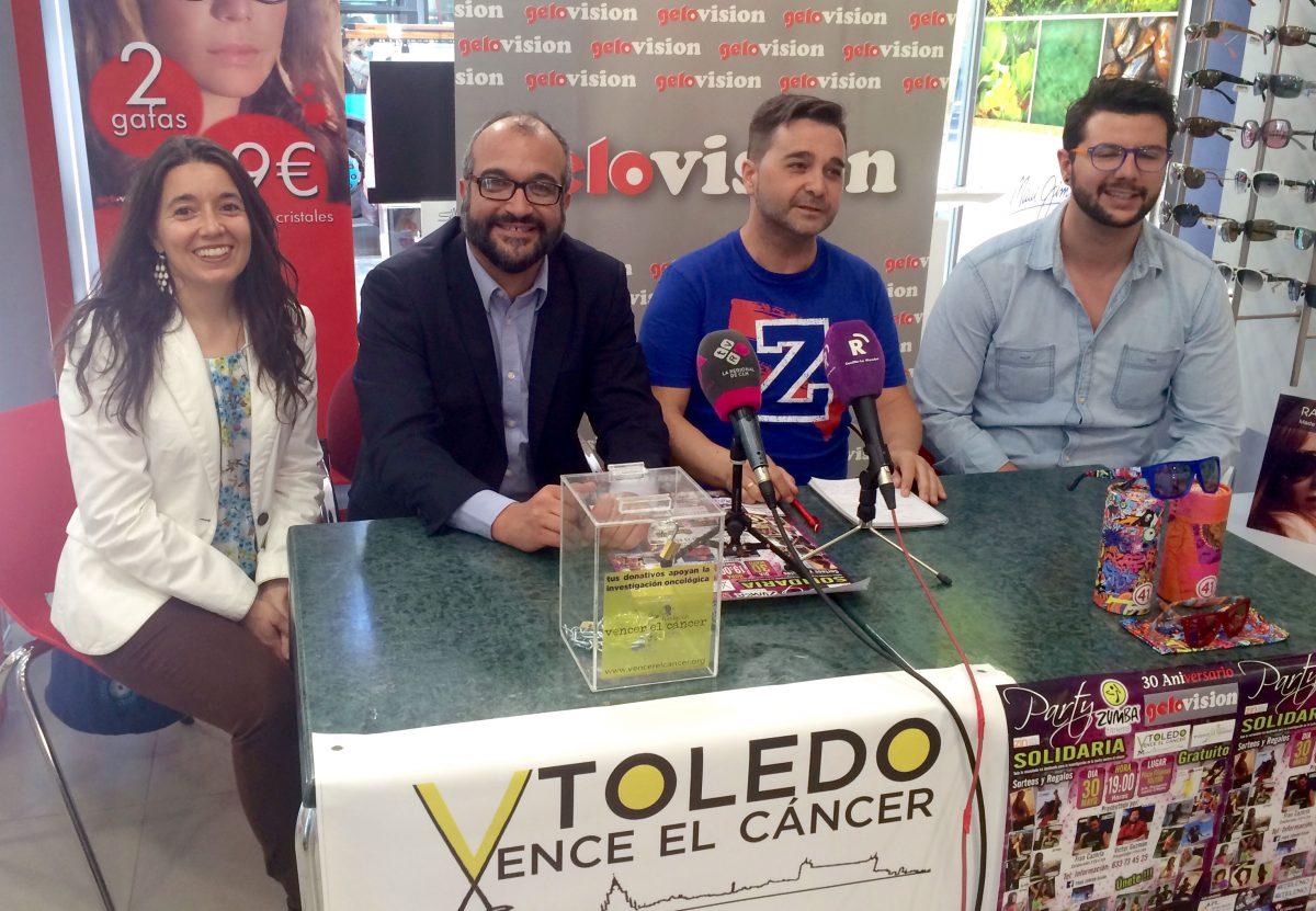 'Party Zumba Sensaciones' se celebrará en próximo 30 de mayo en Toledo con fines solidarios