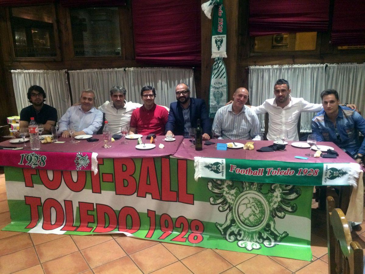 El Gobierno local se suma al acto de fin de la temporada futbolístico organizado por la peña 'Foot-Ball Toledo 1928'
