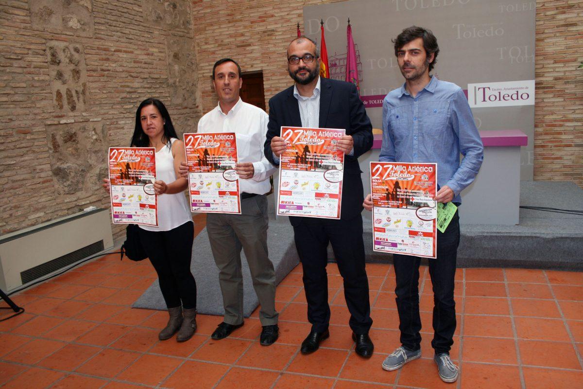 La Milla Atlética de Toledo se mantiene en su 27 edición con inscripciones gratuitas y recogida de alimentos para Cruz Roja