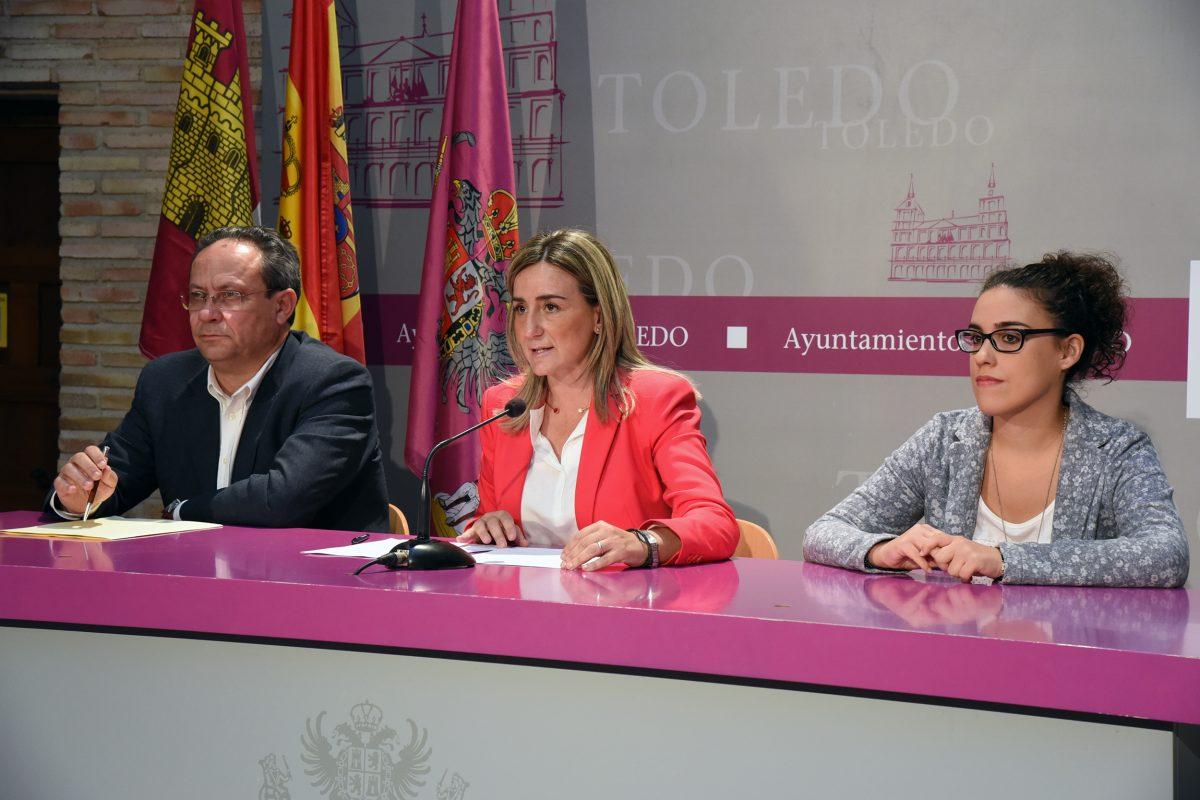 """http://www.toledo.es/wp-content/uploads/2015/06/02-1200x800.jpg. Milagros Tolón desvela los nombres y competencias de un gobierno municipal """"fuerte, preparado y con ganas de generar empleo""""."""