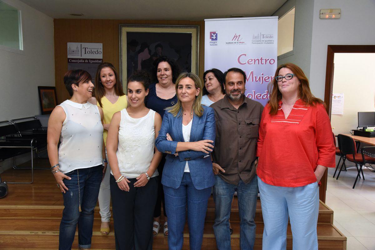 El Gobierno local señala al Centro de la Mujer como un servicio público esencial que tendrá todo el apoyo del Ayuntamiento