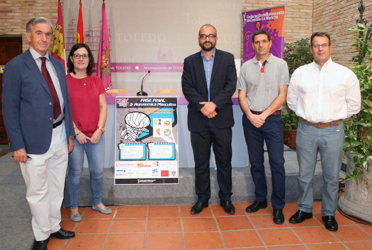 El Ayuntamiento colabora con el Club de Baloncesto CEI Toledo para la fase final que se celebrará este fin de semana