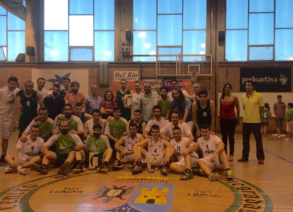 El Basket Puertollano asciende a Primera Autonómica en Toledo; mientras el anfitrión CEI acaba tercero