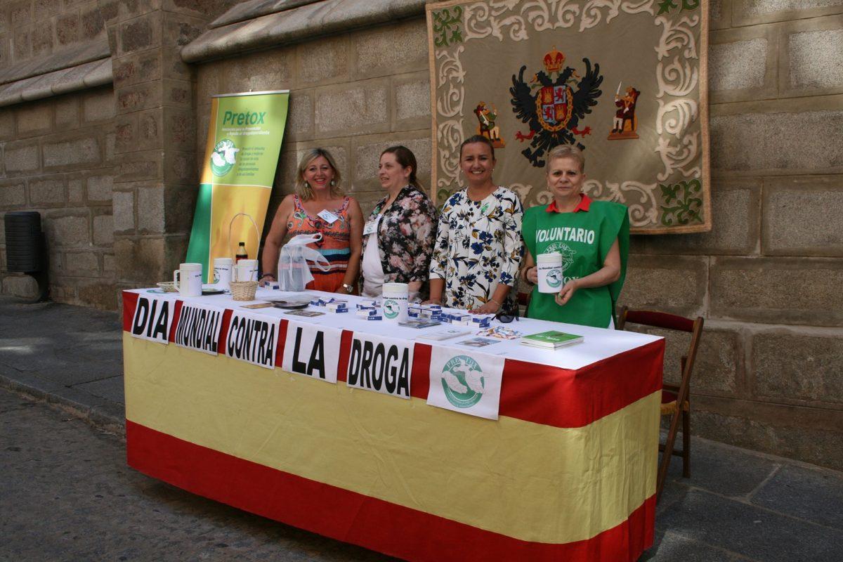 El Ayuntamiento colabora en la cuestación de Pretox con motivo del Día Mundial contra la Droga