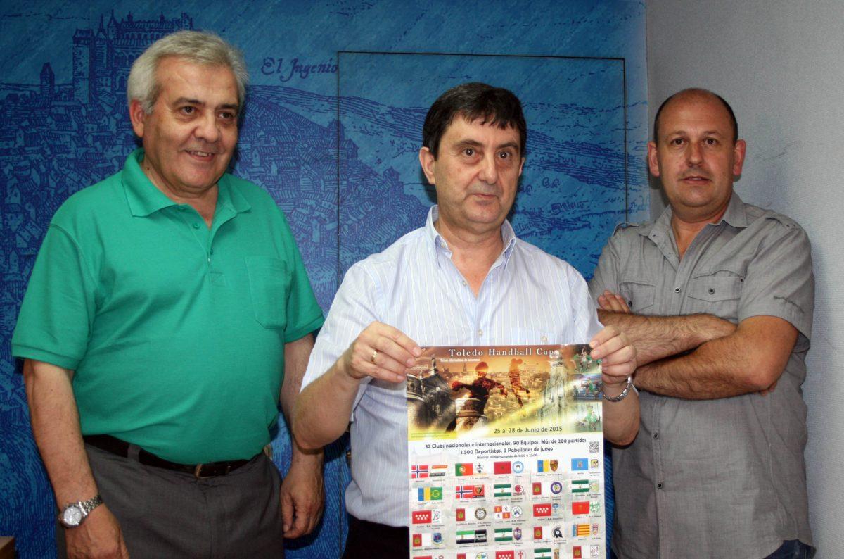 """Más de 225 partidos se disputarán durante el IV Torneo Internacional de Balonmano """"Toledo Handball Cup"""""""