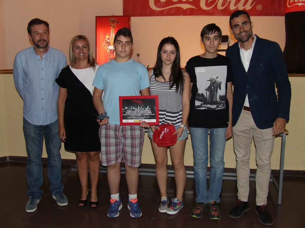 """https://www.toledo.es/wp-content/uploads/2015/06/teatro_cocacola-1200x900.jpg. El Consistorio y la Fundación Coca-Cola entregan los galardones de la XXII edición de los Premios """"Buero"""" de Teatro Joven"""