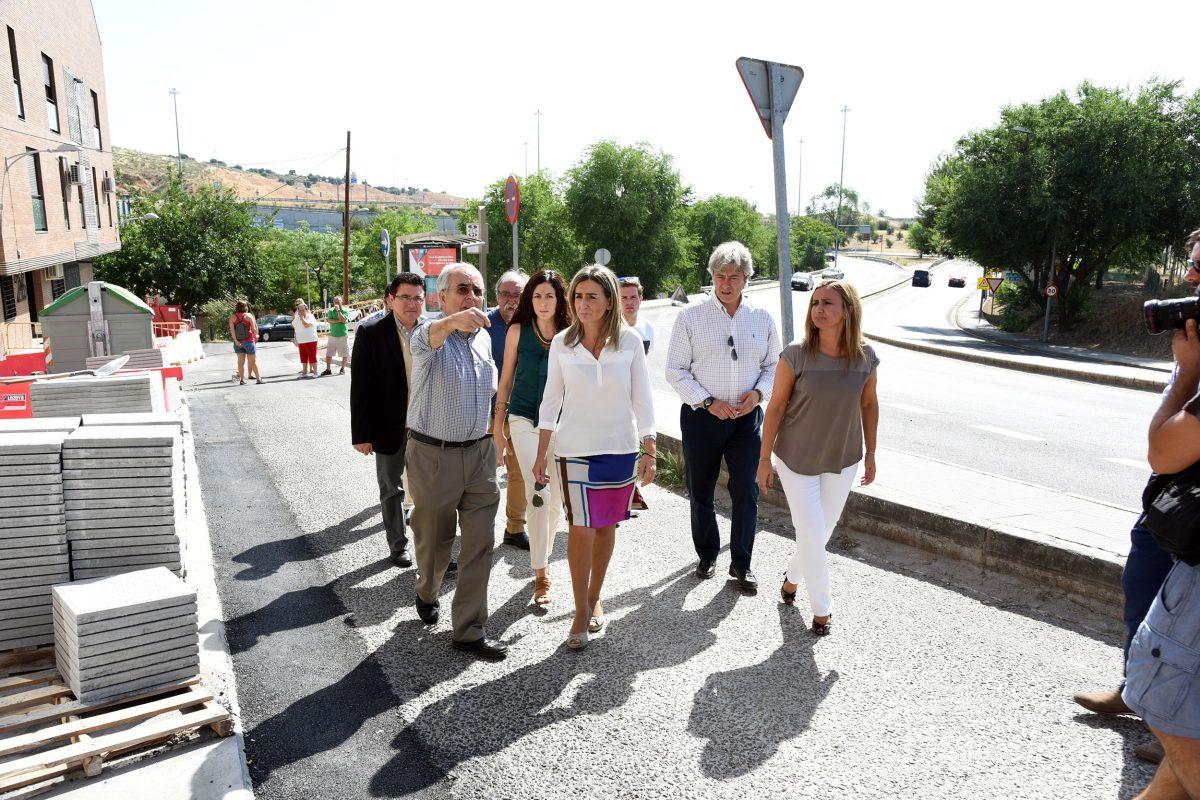 Milagros Tolón anuncia inversiones por valor de 300.000 euros para la mejora urbana de Santa María de Benquerencia