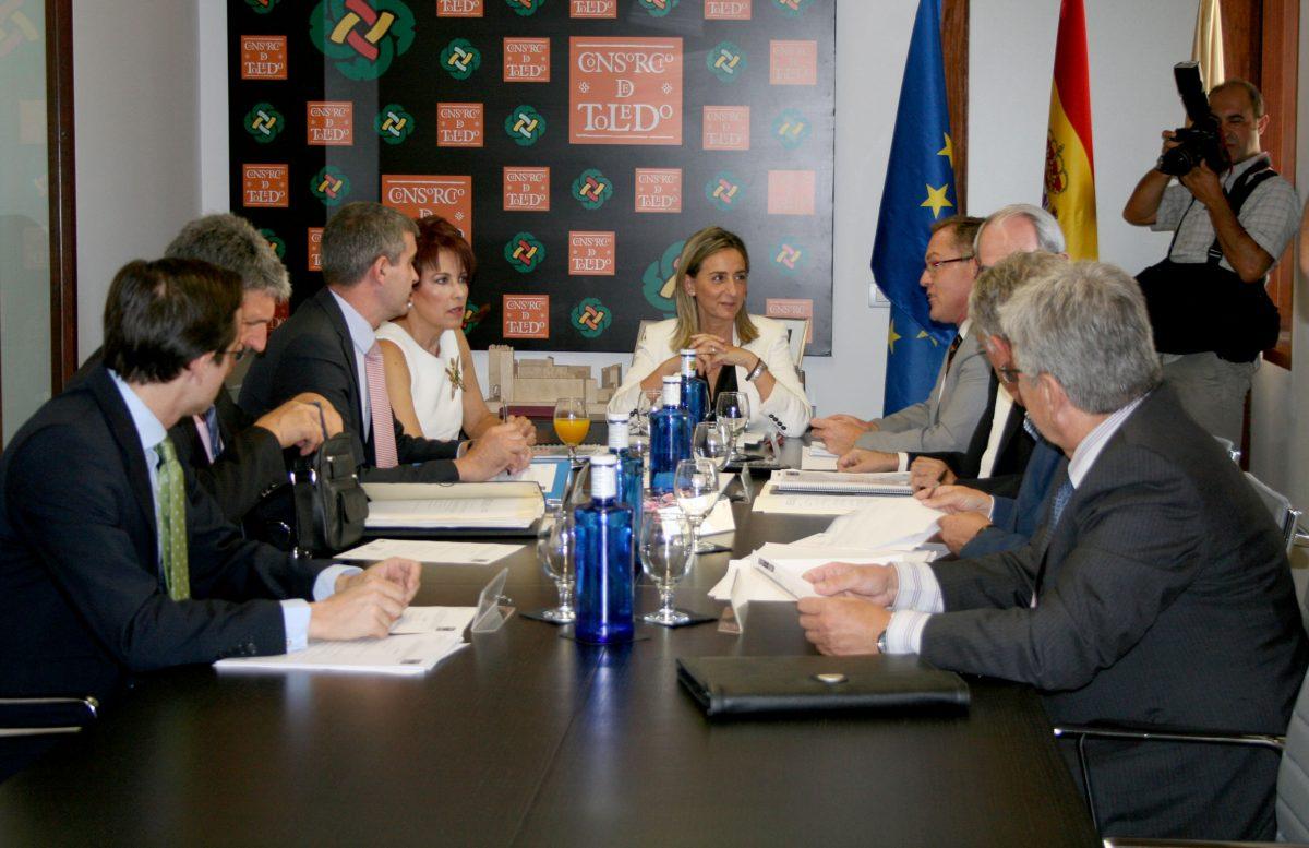 """Tolón preside la Ejecutiva del Consorcio, un órgano """"esencial para la rehabilitación y el desarrollo económico del Casco"""""""
