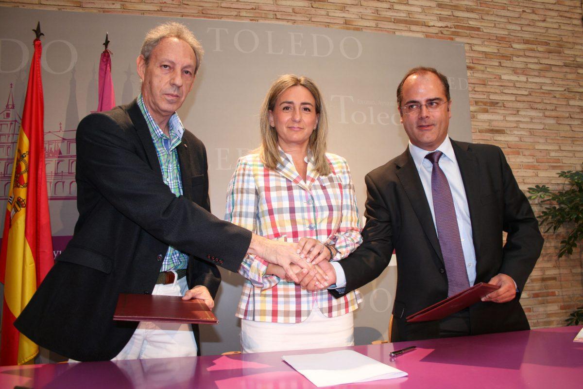 El Ayuntamiento y Gas Natural Fenosa renuevan su compromiso para enriquecer la programación cultural del Teatro de Rojas