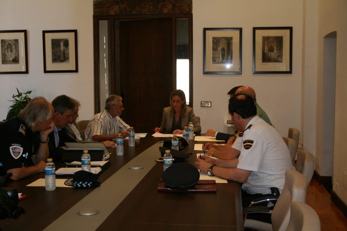 El Ayuntamiento establece la nueva Junta Local de Seguridad de Toledo