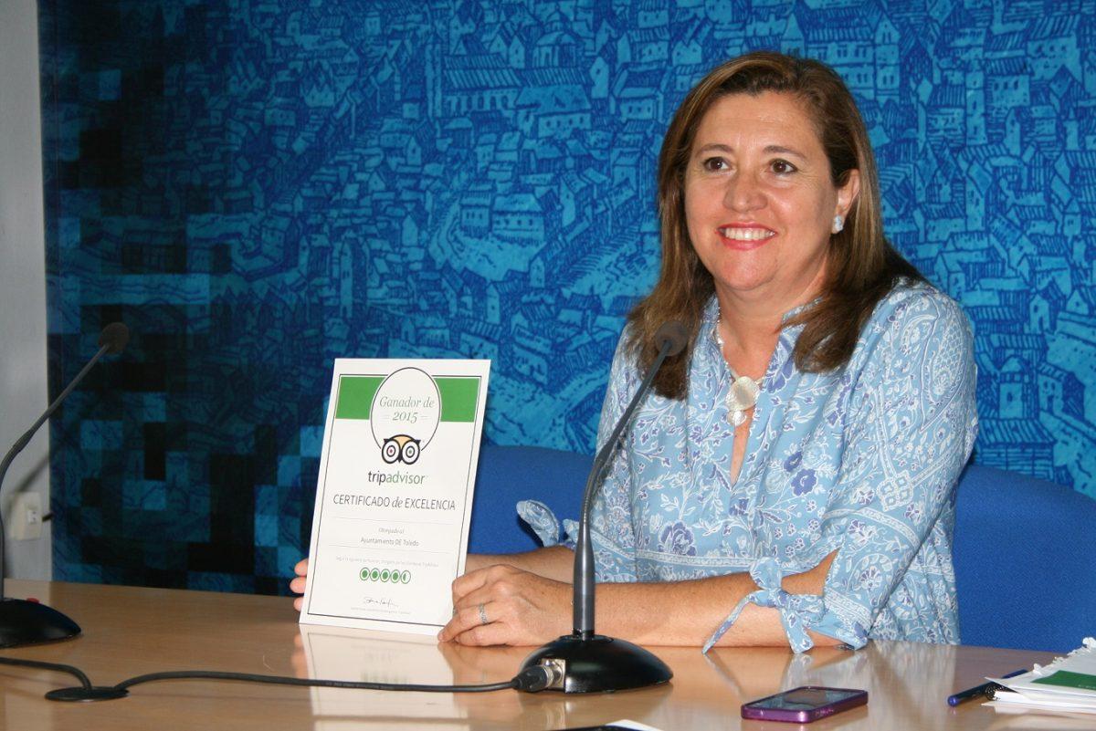 Premian al Ayuntamiento de Toledo con el 'Certificado de Excelencia Turística 2015' de TripAdvisor