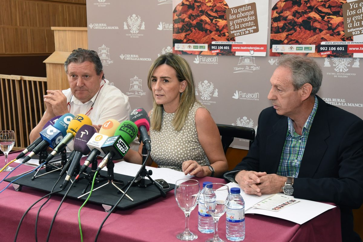 Tolón presenta la Temporada de Otoño del Teatro de Rojas, sobre el que seguirá girando la oferta cultural de la ciudad