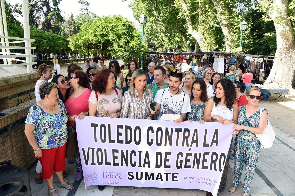 """El Ayuntamiento """"estará siempre al lado de las víctimas de violencia machista y junto a quienes luchan por su erradicación"""""""