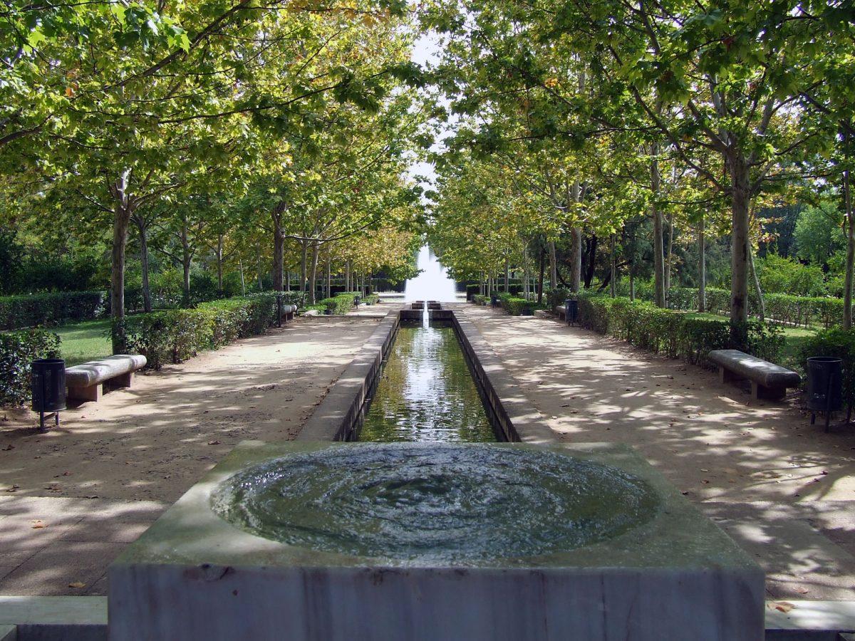 El Ayuntamiento pone en marcha la fuente del parque de Las Tres Culturas y realiza arreglos en varios de sus espacios